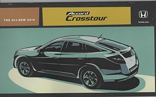Dealer Sales Brochure for 2010 Honda Crosstour crossover SUV