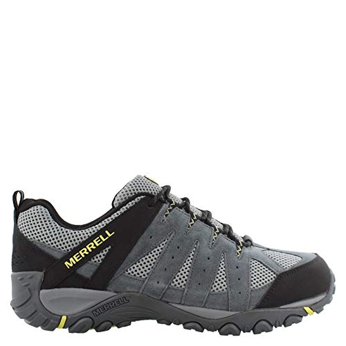 Merrell Men's, Accentor 2 Ventilator Hiking Shoes - Wide Width Grey 11 W (Width Hiking Shoes Wide)