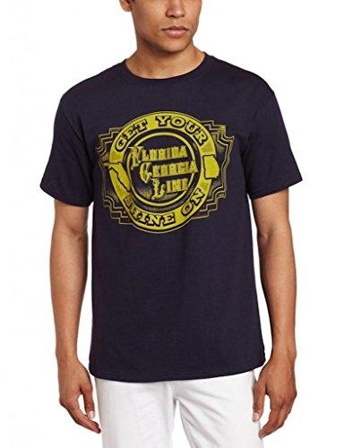Florida Georgia Line Get Your Shine Navy T-Shirt