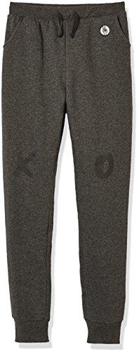 Kid Nation Kid's Fleece Jogger Pant for Boys or Girls XL Charcoal Gray - Fleece Hoodie Pants