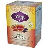 Yogi Aztec Sweet Chili Tea, 16-Count Tea Bags (Pack of 6)