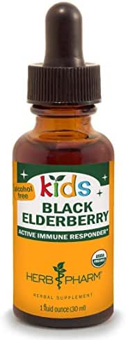 Vitamins & Supplements: Herb Pharm Kids Black Elderberry
