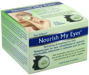 Fran Wilson Nourish My Eyes Cucumber Eye Pads (Pack of 3)