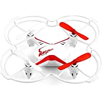 Fx-4v 2.4G 5CH RC Quadcopter Drone w/ Voice Control 3D Flips RTF White
