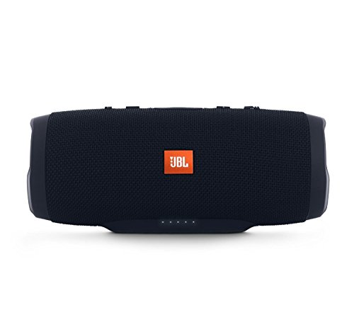 JBL Charge 3 JBLCHARGE3BLKAM Waterproof Portable Bluetooth Speaker (Black)