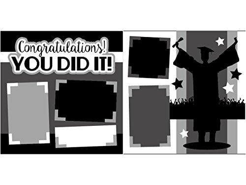 """Congratulations You Did It! (Boy)"" Scrapbook Kit"