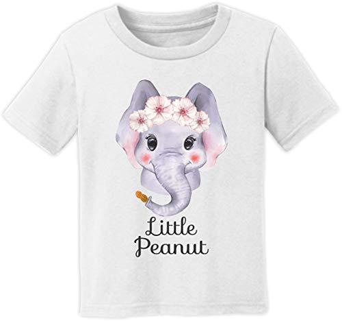 Little Peanut Elephant Baby Girl Infant Shirt (12M Short Sleeve T-Shirt)