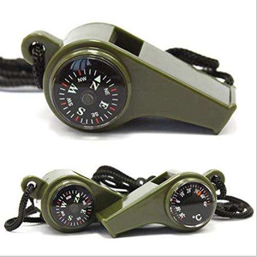 YUNJIE Brújula De Bolsillo,Brújula De Emergencia De Supervivencia Alta Precisión Aire Libre Camping Senderismo Uso Militar...