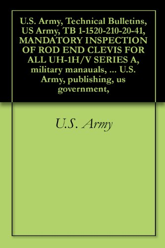 U.S. Army, Technical Bulletins, US Army, TB 1-1520-210-20-41, for sale  Delivered anywhere in Canada