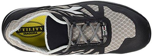 Diadora D-Trail Low S1p SRA HRO, Men's Safety Shoes Black (Grigio/nero)