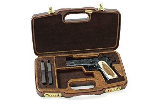 - Negrini Model 1911 Custom Shop Wood Handgun Case - 2018SLX/WOOD