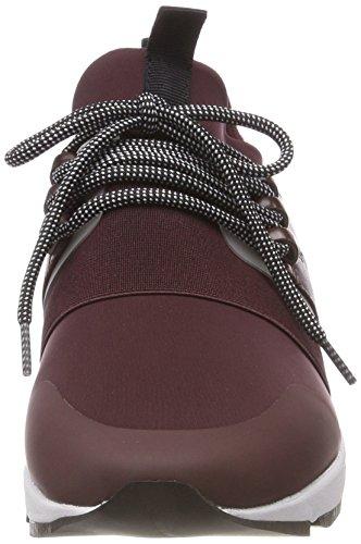 Hugo Femme Sneakers Running Hybrid Red dark Basses n Rouge 609 P6WrPan