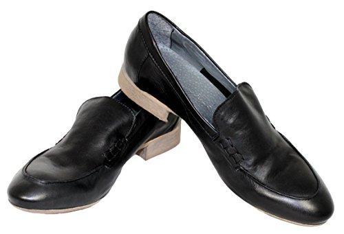 Chaussures Femme Chaussons cuir piampiani nbsp;Noir 56070 Shoe Loafers souple 75dRfqw