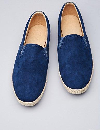 Blue Uomo Find on Scarpa Scamociata Blu Slip royal Ux0waqfZ