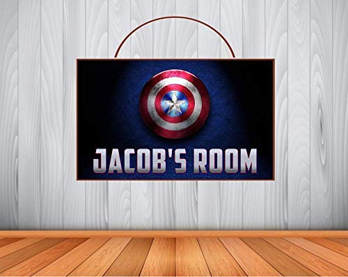 Amazon Com Personalized Captain America Sign Captain America