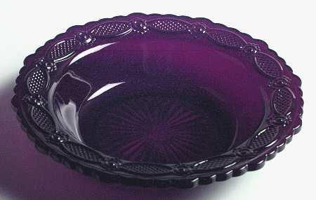 Avon 1876 Cape Cod Rim Soup Bowl - Ruby - Avon Glass