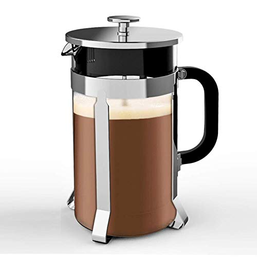 French Press, Ymiko French Coffee Press (8 Cup,...