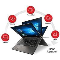 2017 Toshiba Satellite Radius 2-in-1 12.5 4K Ultra HD 3840 x 2160 Touchscreen Laptop, Intel Core i7-6500U 2.5GHz, 8GB RAM, 512GB SSD, Backlit Keyboard, HDMI, WIFI, Bluetooth, Windows 10, Gray
