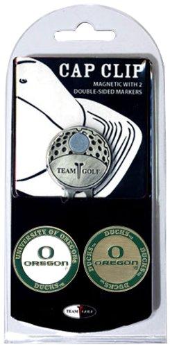 NCAA Oregon Ducks Cap Clip With 2 Golf Ball Markers Oregon Golf Ball