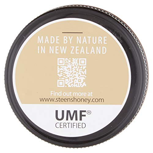 Steens UMF 24 Manuka Honey (MGO 1122) 8.8 Ounce jar with box | Raw Unpasteurized Honey From New Zealand | Traceability Code on Each Label by Steens (Image #4)