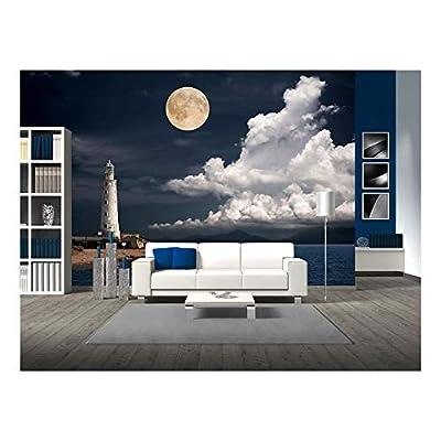 Lighthouse at Night, Top Quality Design, Elegant Work of Art