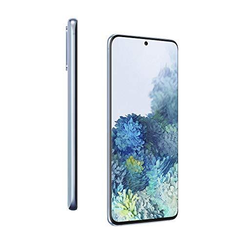 Samsung Galaxy S20 Mobile Phone; Sim Free Smartphone - Cloud Blue (UK version)