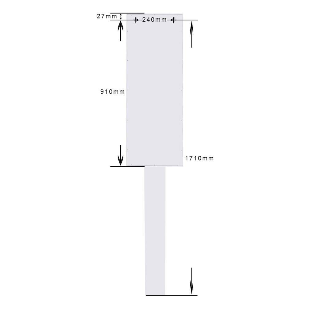 Topfire in Wall Ironing Board Cabinet Storage Shelves to Iron Accessories Dressing Mirror Storage Cabinet Hotel/Home/Office use by Topfire (Image #3)