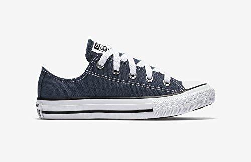 Converse Chuck Taylor Allstar OX Little Kids Shoes Navy 3j237 (1.5 M (Navy Converse Kids)