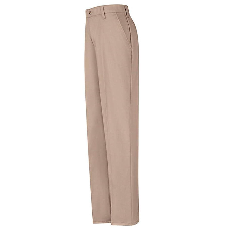 Red Kap Plain Front Cotton Pant, Women, PC45KH, 0834U