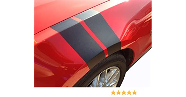 Amazon.com: Mustang Fender Hash Stripes Mustang Accessories Gloss Black: Automotive