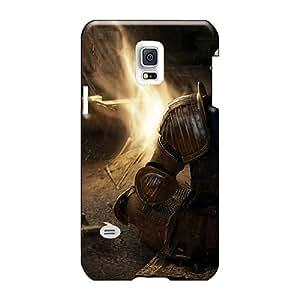 LeoSwiech Samsung Galaxy S5 Mini Shockproof Hard Cell-phone Case Custom Vivid Dark Souls Series [jBv3479WxIf]