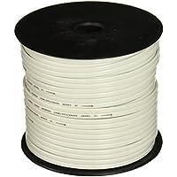 Rockville R14G125MSW 125 Foot Spool Marine Waterproof 14 AWG Speaker Wire White