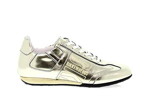 Bkw101310 Mujer Zapatos Cuero Oro Bikkembergs AF5wq4B