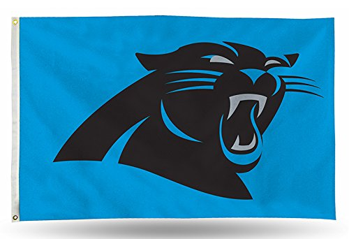 Carolina Panthers Flag - NFL Carolina Panthers Banner Flag 3-Foot by 5-Foot