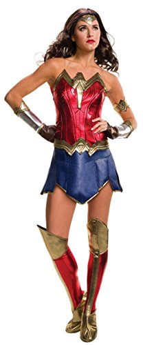 Secret Wishes Women's Batman v Superman: Dawn of Justice, Wonder Woman Costume, (Adult Wonder Woman Costumes)
