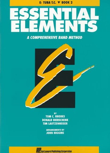 Clef Tuba - ESSENTIAL ELEMENTS BOOK 2 -  ORIGINAL SERIES (AQUA)       E-FLAT TUBA TREBLE CLEF  T.C.