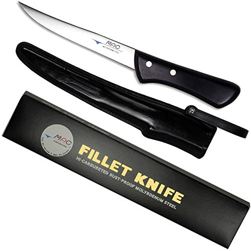 MAC BNS-60 - Chef Series 6'' Boning Fillet Knife Curved/Silver Molybdenum steel by Mac Knife (Image #2)