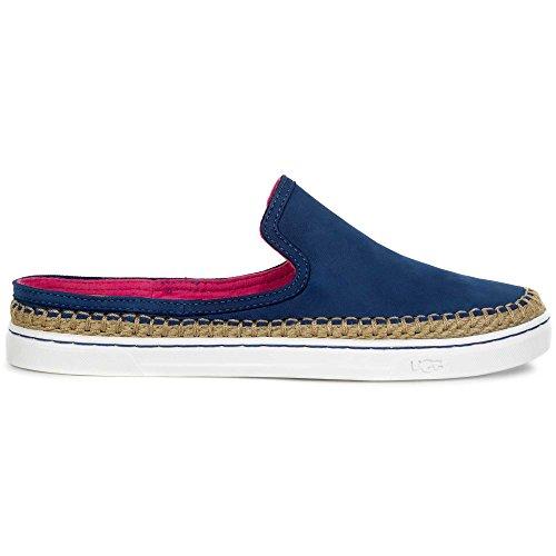 UGG Women's Caleel Fashion Sneaker, Azul, 8 B US