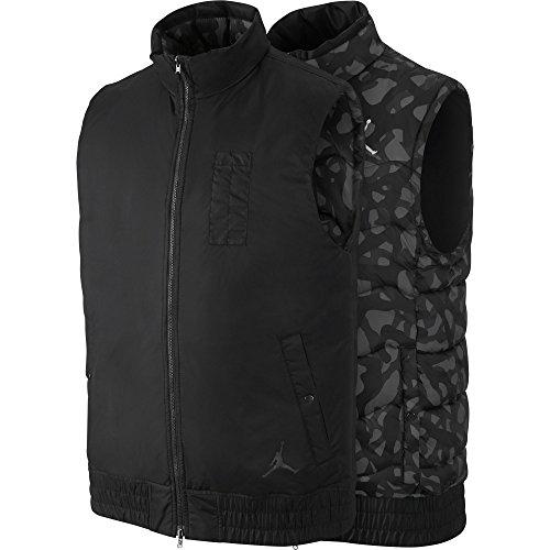 Jordan Fly Reversible Men's Vest Cool Black/Grey/Black 682811-010 (Size M) by Jordan