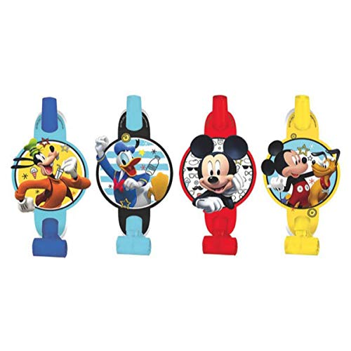 Mickey Mouse Clubhouse Party Blowers (8-Pack), Party Supplies -