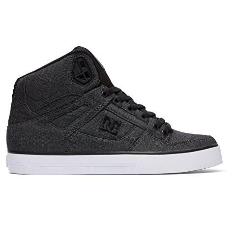 Street Lo Skate Shoe (DC Men's Spartan High WC TX SE Grey Resin Rinse 10 D US)