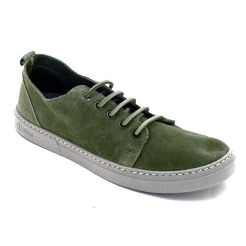 6254 Natural Del Modello World Sneaker Da Donna Bassa Marchio Kaki Blucher 5Y6Ywxq