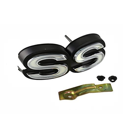 (Eckler's Premier Quality Products 50-203590 Chevelle Grille Emblem, Super Sport (SS),)
