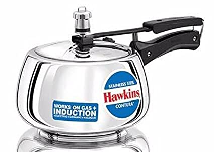 Hawkins Stainless Steel Contura Pressure Cooker 5 litres