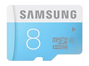 Samsung 8GB Class 6 Micro SDHC up to 24MB/s Adapter (MB-MS08DA/AM)