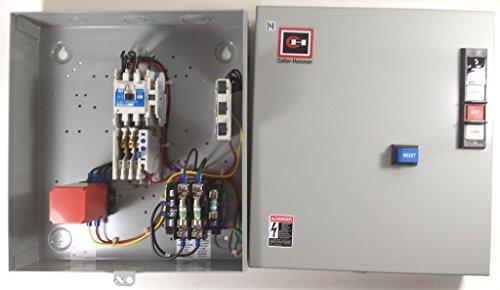C-H ECN0701EHA SIZE 0 3P ENCLOSED MAGNETIC MOTOR STARTER+XFRMR+258B MONITOR