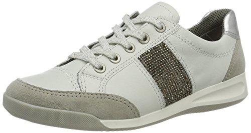 ara Womens L.Low Shoes pabble/White/Silver Size 6.5 B(M) US
