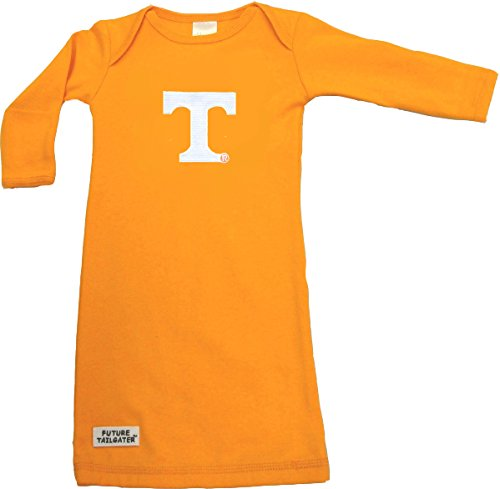 Future Tailgater Tennessee Volunteers Baby Layette Gown