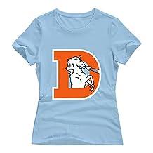 Enlove Denver Broncos Slim T-shirt For Womens