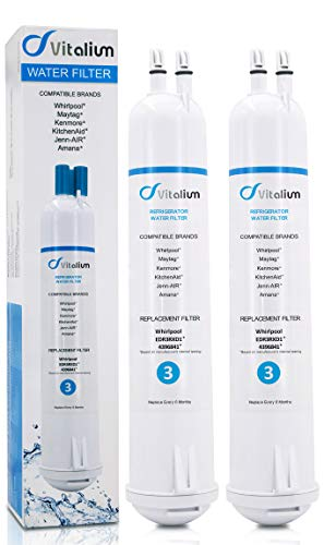 Replacement for Pur Water Filter 4396841, 4396710 Water Filter, Filter 3, EDR3RXD1, Kenmore 9030, (Pur Water Filter Kenmore Refrigerator)